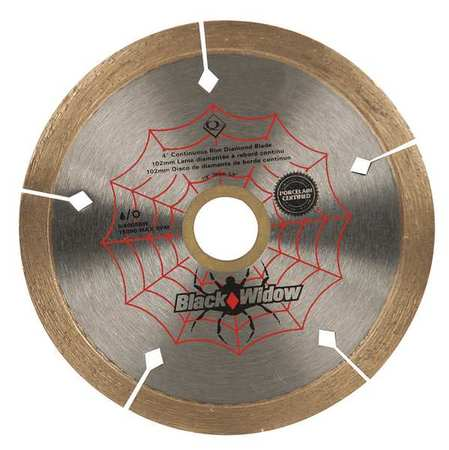 QEP 6-4008BW Tile Saw Blade,Wet/Dry,4 In Dia