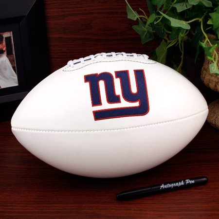 New York Giants Rawlings Signature Series Official Size Autograph Football - No Size