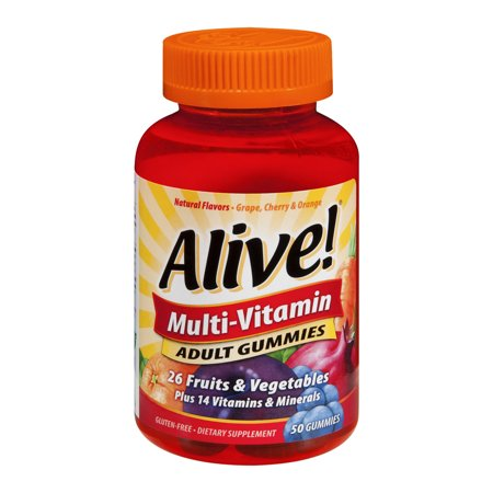 Nature's Way Vivant! Multivitamines gélifiés, Fruit Verger et le jardin 50 ch Veggies