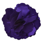 Expo Int'l Tami Silky Fabric Flower Brooch Pin Hair Clip