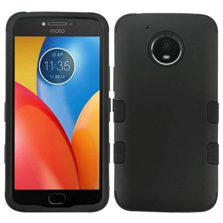 Motorola Moto E4 Plus Case, by Insten Tuff Hard Plastic/Soft TPU Rubber Case Cover For Motorola Moto E4 Plus, Rose Gold/Black - image 3 de 3