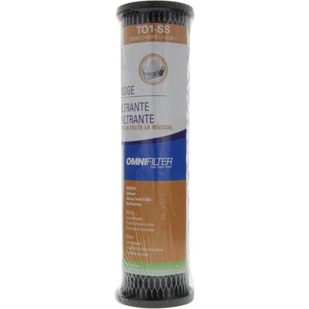 Series-C Carbon Cartridge, 5-Micron filtration By Flotec