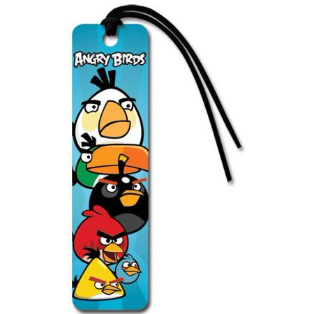 Angry Birds Group Video Game Bookmark - 2x6 - Angry Birds Halloween Game Hd