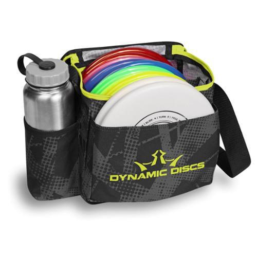 Dynamic Discs Cadet Disc Golf Bag - Fracture Chartreau