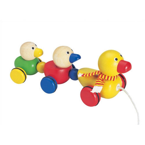 Wonderworld Duck Family Pull Toy