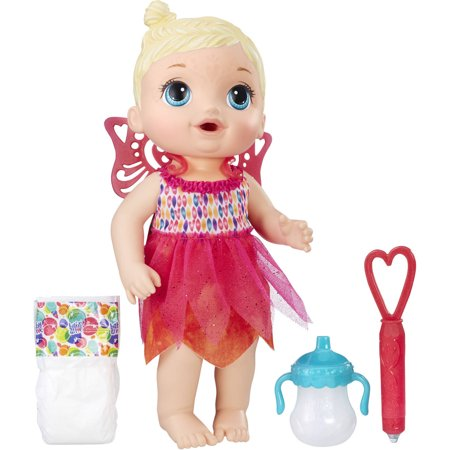 Baby Alive Face Paint Fairy   Blonde Hair