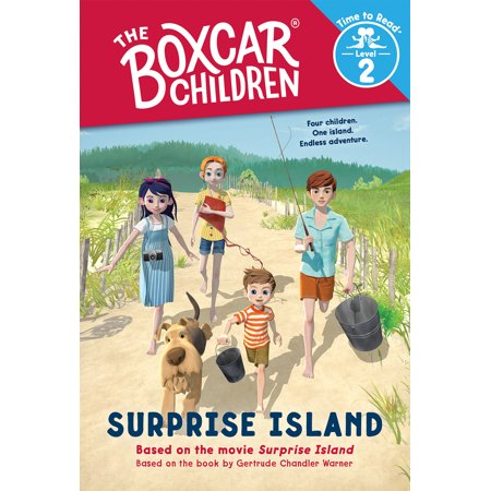 Surprise Island (The Boxcar Children: Time to Read, Level 2) - Level K Reading