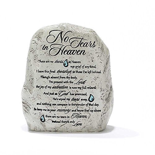 Garden Rock Figurine - No Tears in Heaven