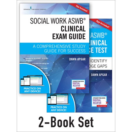 Social Work Aswb Clinical Exam Guide and Practice Test, Second Edition Set: A Comprehensive Study Guide for Success (Other) Ts22a Test Set