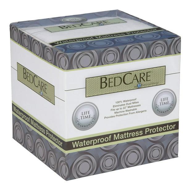 National Allergy Hypoallergenic Waterproof Mattress Protector Walmart Com Walmart Com