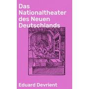 Das Nationaltheater des Neuen Deutschlands - eBook