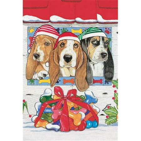 Pipsqueak Productions C482 vacances Boxed Cards-Basset Hound - image 1 de 1