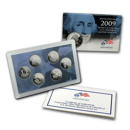 2009 Coin - 2009 D.C. and U.S. Territories Quarters Proof Set