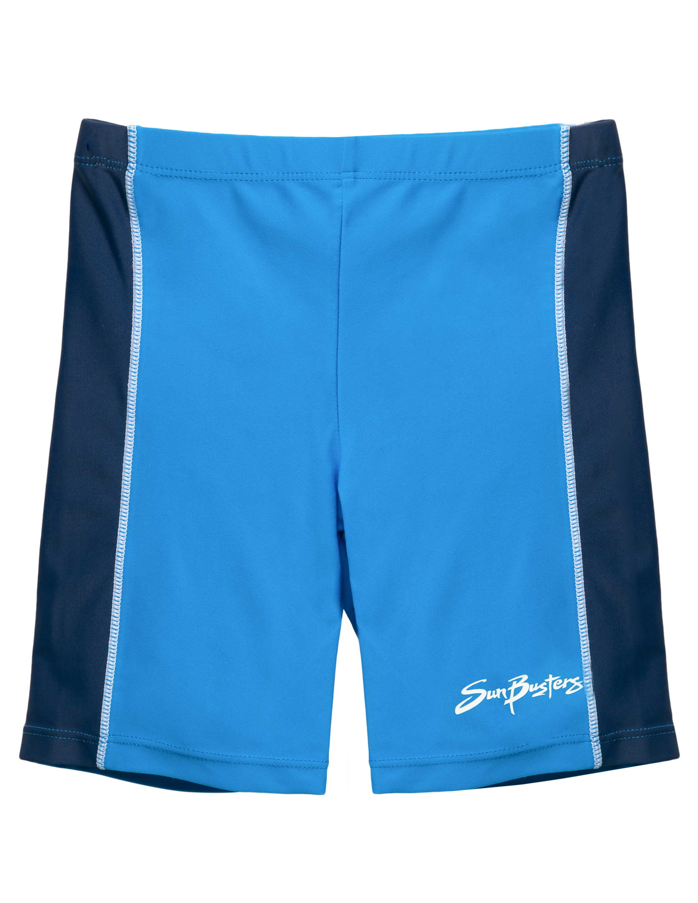 SunBusters Boys Swim Short(UPF 50+), Dusk Blue, 11/12 yrs