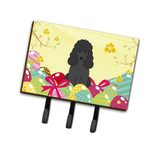 The Holiday Aisle Easter Eggs Poodle Leash or Key Holder