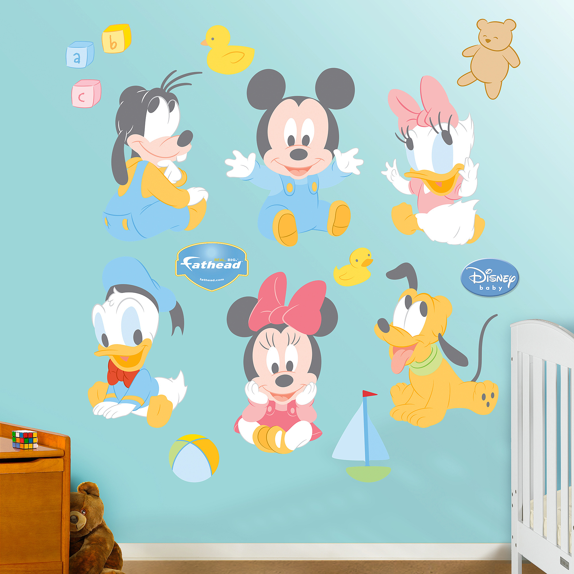 Baby Mickey Mouse Fathead