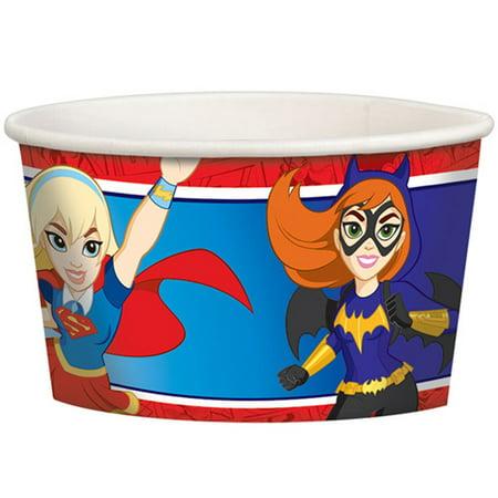 DC Super Hero Girls Ice Cream Cups - Superhero Cups