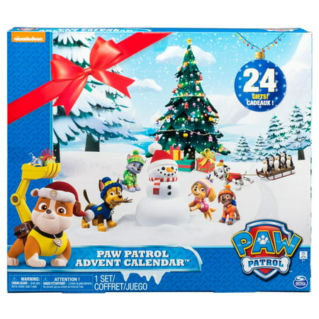 paw patrol look out advent calendar walmartcom