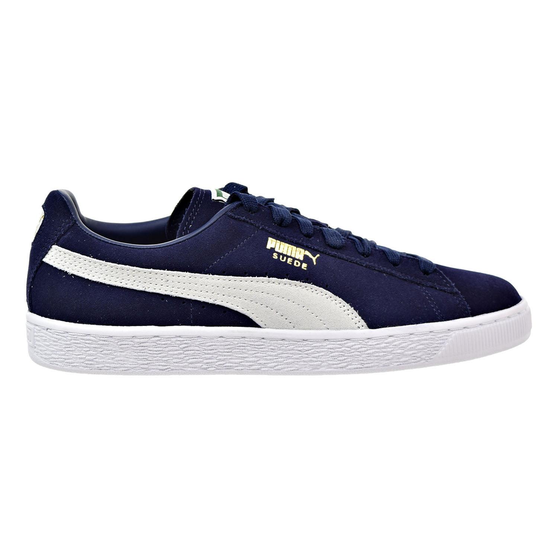 Puma Suede Classic Men's Sneakers Peacoat-White356568-51
