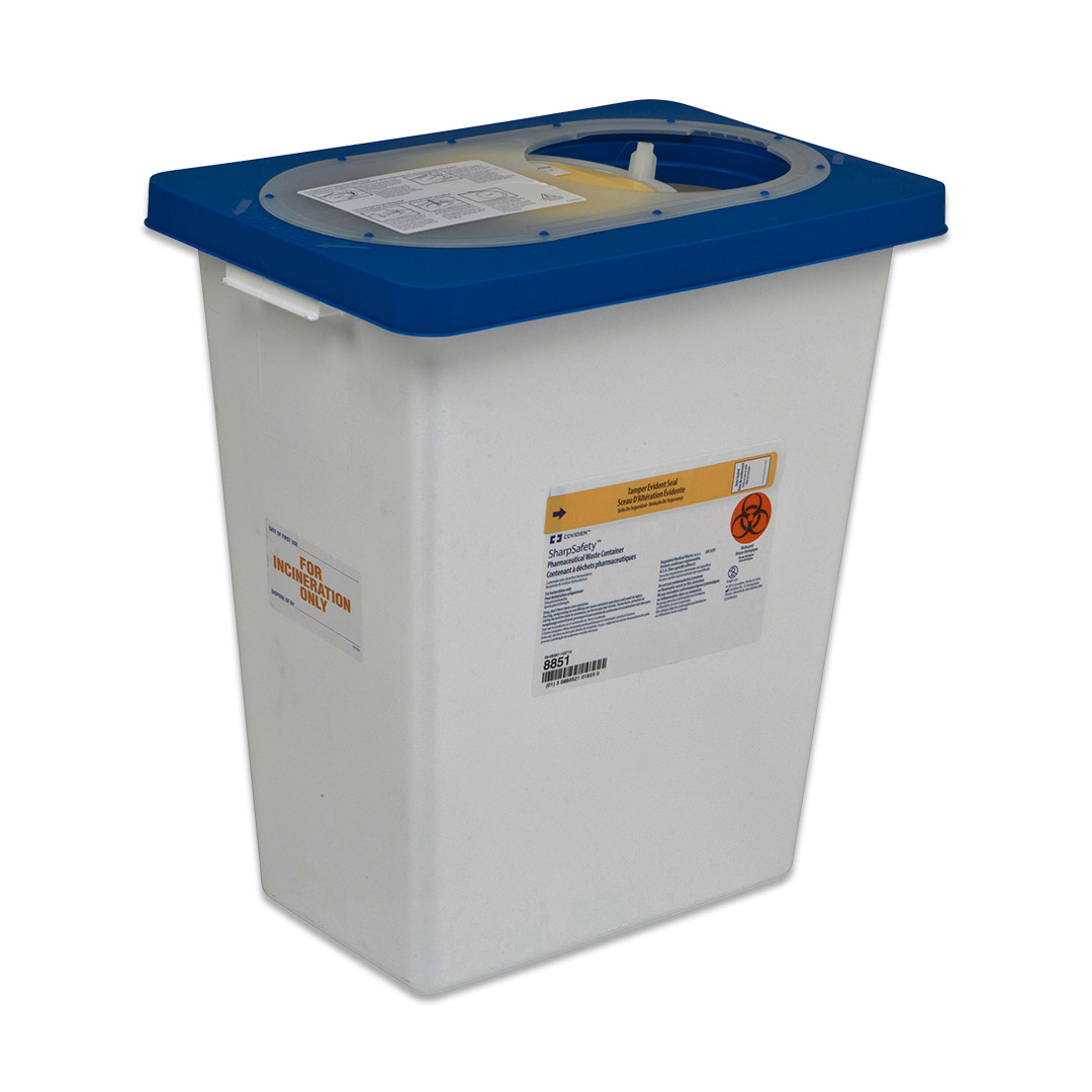 Multipurpose Sharps Container Pharmasafety (1/EA)