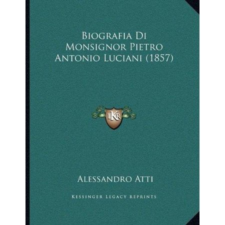 Biografia Di Monsignor Pietro Antonio Luciani (1857) - image 1 of 1