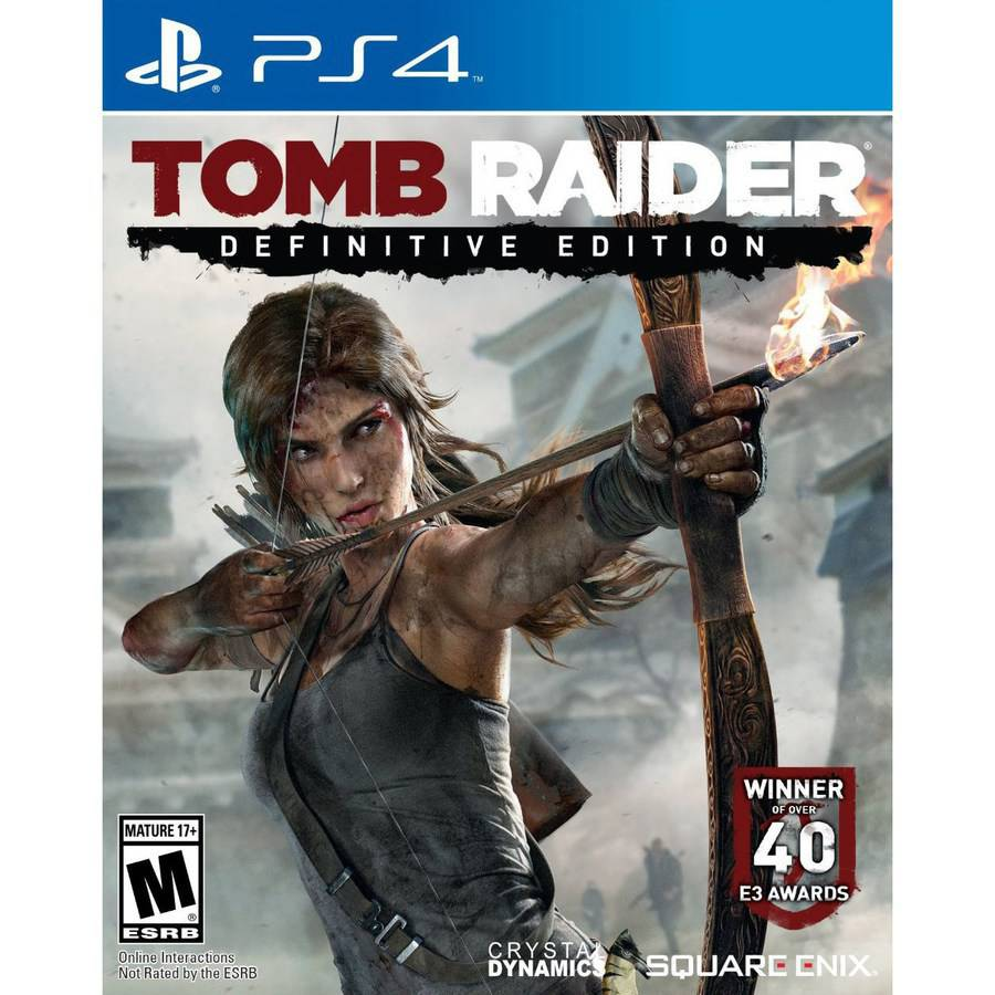 Square Enix Tomb Raider Definitive Ed (PS4) - Pre-Owned