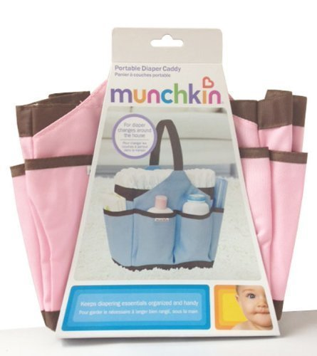 Munchkin Portable Diaper Caddy - Pink