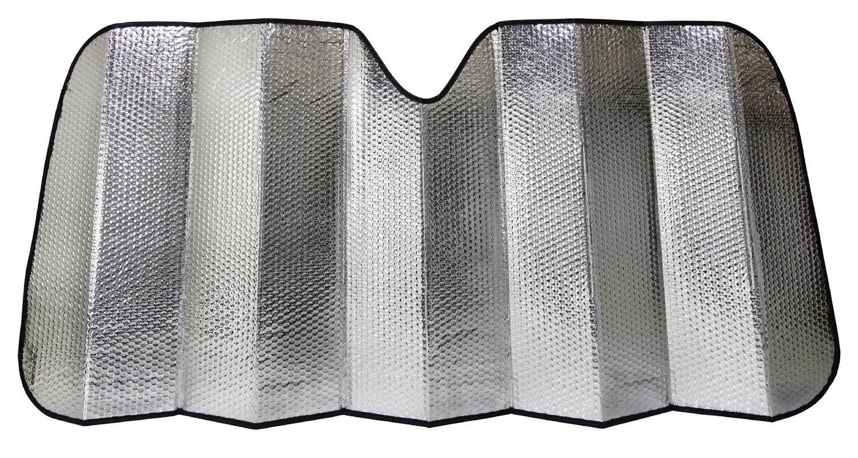 Reflective Gray Foil Car Sun Shade Jumbo Reversible Folding Windshield Cover