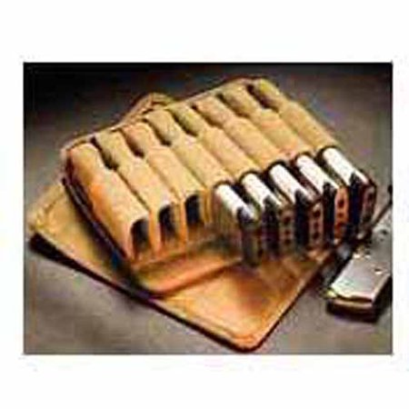 Tuff In-Line 9MM/G17 Magazine Pouch (Ichiro Nagata) Coyote Brown Belt  or M.O.L.L.E. Carry