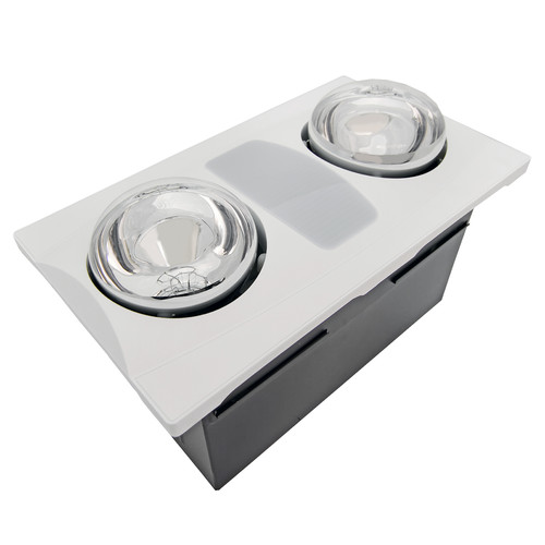 Aero Pure 80 CFM Bathroom Fan with Heater and Light