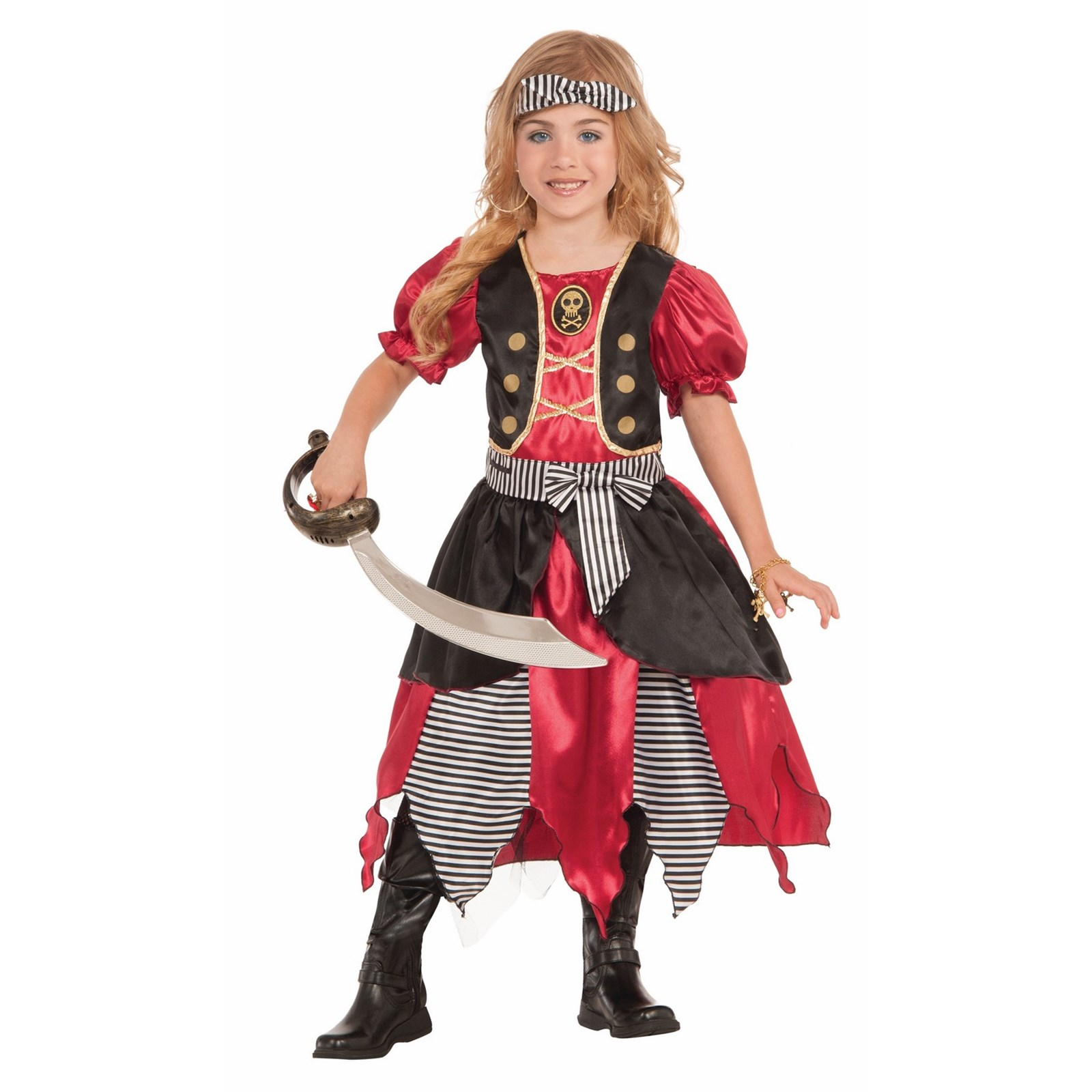 Girls Buccaneer Princess Costume