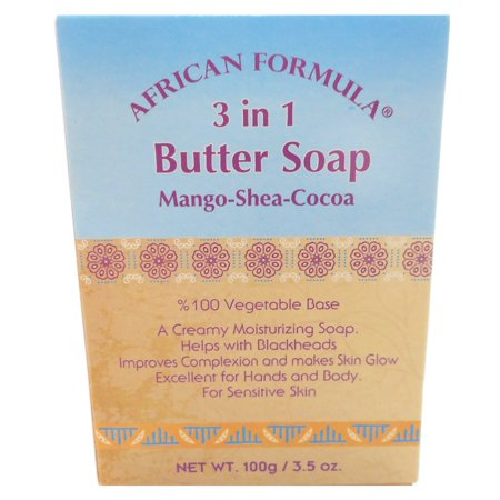 African Formula Mango Shea Cocoa Butter Soap Blackheads Jabon