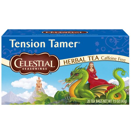 Celestial Seasonings Herbal Tea, Tension Tamer, 20 Count