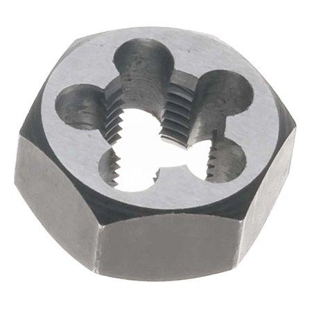 9mm x 1.25 Metric Hex Rethreading Die - Carbon Steel, Thread Diameter: 9 mm By Dies Hex -