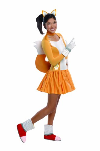 Rubieu0027s Costume Sonic The Hedgehog Tails Dress and Accessories Orange/White ...  sc 1 st  Nextag & Rubieu0027s Costume Sonic The Hedgehog Tails Dress and Accessories ...