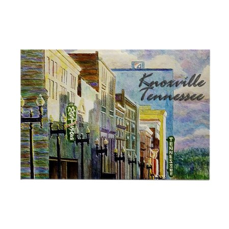CafePress - Knoxville, TN - Rectangle Magnet, 2