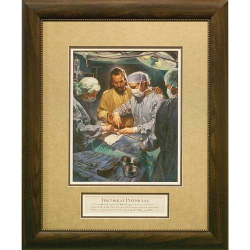 Carpentree I Will Instruct You by Nathan Greene Framed Painting Print