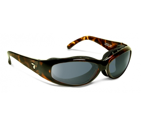 Image of 7 Eye Air Shield Chubasco Sunglasses, Photochromic Day Night Eclypse Lens, Dark To