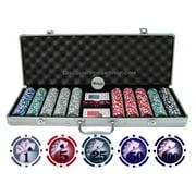 13.5g 500 piece Yin Yang Clay Poker Chip Set by