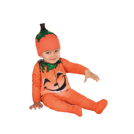 Baby Pumpkin Costume (Baby's First Halloween Pumpkin Designs)