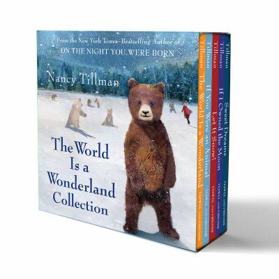 Nancy Tillmans The World Is A Wonderland Collection  The World Is A Wonderland  If You Were An Animal  Let It Snow   If I Owned The Moon  Sweet Dreams