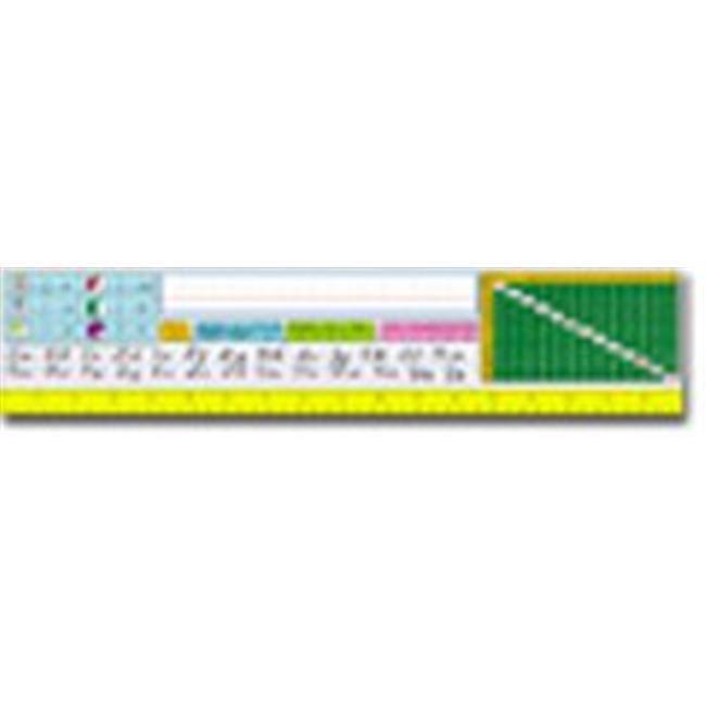 Nameplates Modern Cursive-36 Pk 18 X 4 Upper Grades by CoolCrafts