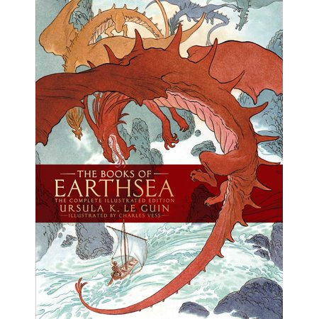 - The Books of Earthsea : The Complete Illustrated Edition