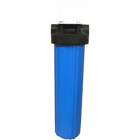 20-inch Single Canister Big Blue Phosphate Filter System for Scale (07 Single Canister System)