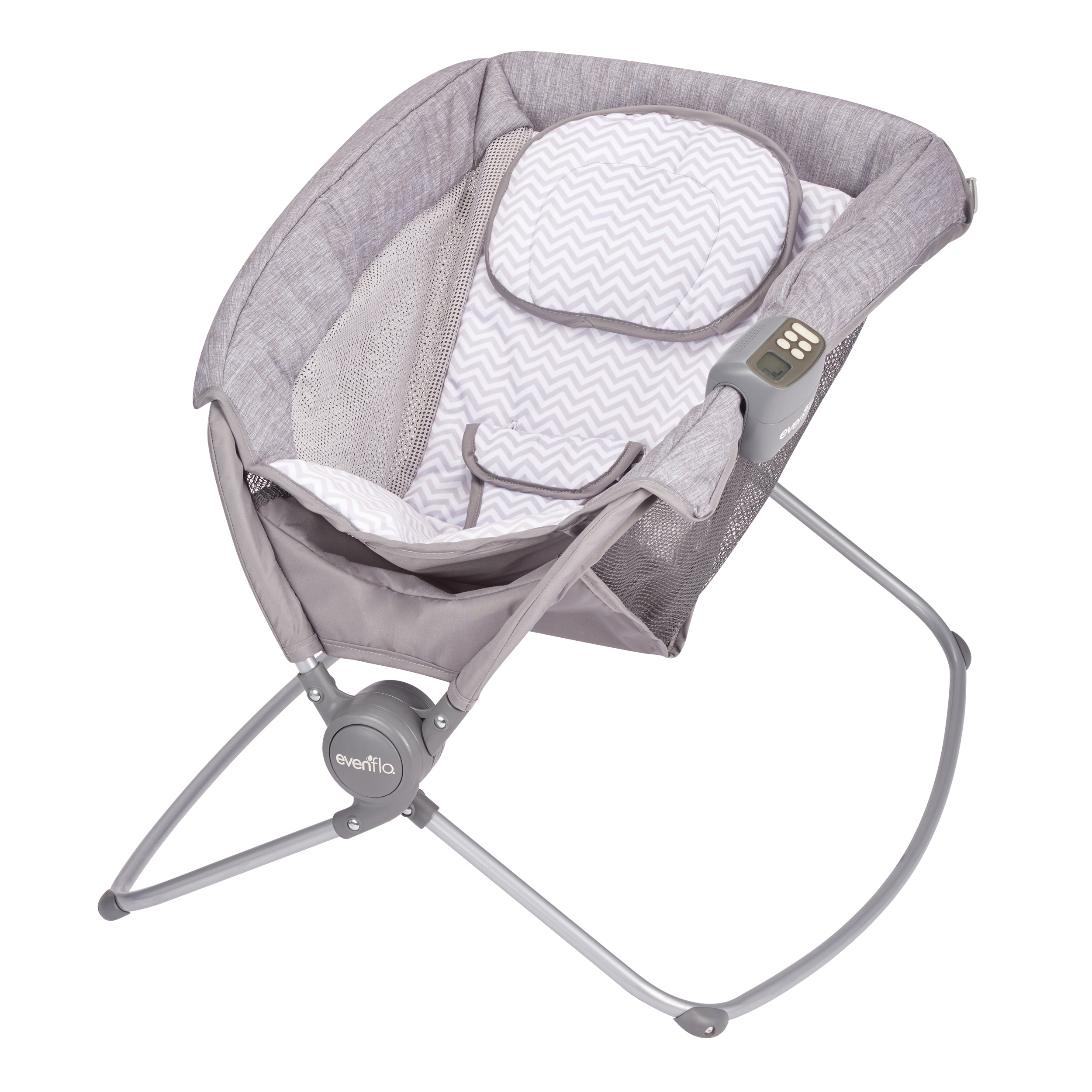 EVENFLO PILLO PORTABLE NAPPER, CHEVRON