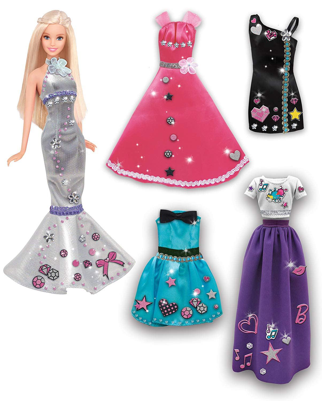 Tara Toys Barbie Be A Fashion Designer Doll Dress Up Kit Walmart Com Walmart Com