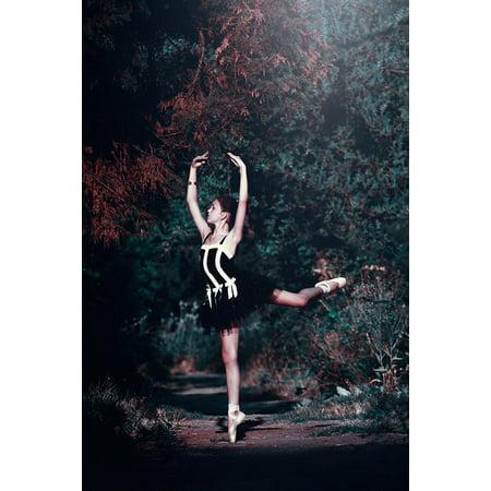 Beautiful Women Posters (LAMINATED POSTER Dancing Woman Beautiful Girl Ballet Pose Legs Poster Print 24 x)