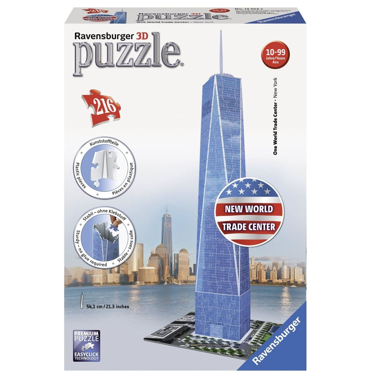 Ravensburger One World Trade Center, New York 3D Puzzle: 216 Pcs by Ravensburger