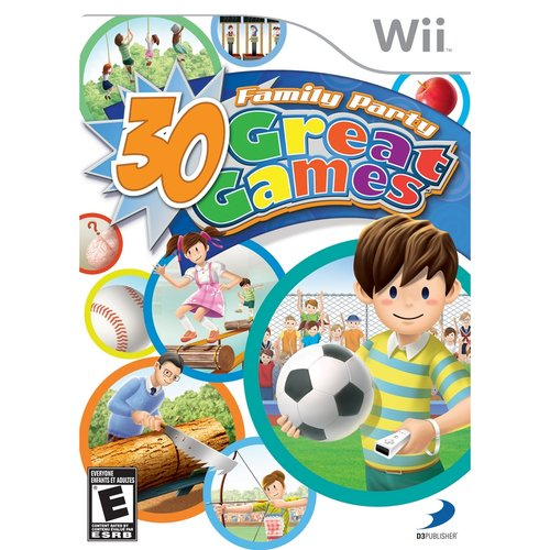 Family Party: 30 Great Games (Wii) - Pre-Owned