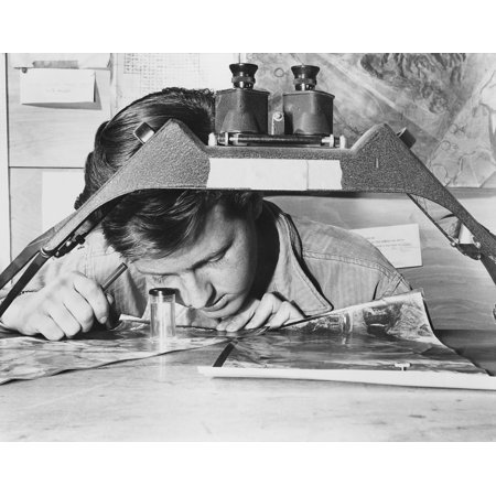 US Air Force Sergeant Studies An Reconnaissance Photo Of A Communist Gun Position His Reports On Red Flak Are Used In Briefing Fighter-Bomber Pilots On How Best To Approach Heavily Defended Targets (Best Airgun For Squirrels)